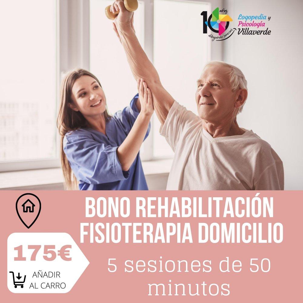 Bono Rehabilitación Fisioterapia a domicilio - Logopedia y..